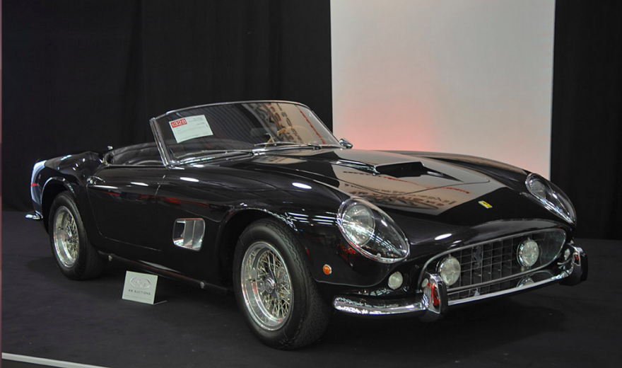 Cropped 1961 Ferrari 250 Gt California Spider Png